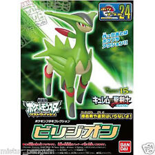 Pokemon BW Plastic Model Kit VIRIZION PokePlamo 24 Toy Figure Bandai Black White