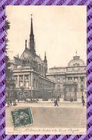 CPA 75 - PARIS - Le palais de justice & la sainte chapelle