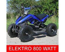 Elektro 800W ATV Kinderquad Pocketquad Miniquad Racer Quad Pocket Bike blau NEU