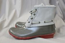 J CREW WOMEN'S SPERRY TOP-SIDER® FOR J.CREW SALTWATER BOOTS SIZE 11M
