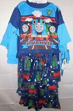 NWT Thomas & Friends Steam Power Trains 2 Piece Pajamas 12 18 Mos 2T 3T 4T 5T