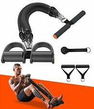 New listing Pedal Resistance Band Exercise Bands with Handles Elastic Sit up Pull Rope fo...
