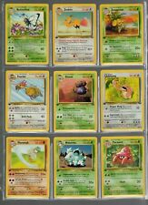Complete JUNGLE 1st Edition Common & Uncommon Pokemon Set of 32 Cards NM to mint