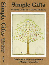 William Coulter Barry Phillips Simple Gifts CASSETTE ALBUM Religious Folk USA