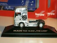 "Herpa 936613 MAN TGX XXL Sattelzugmaschine 18.640  "" THE LION """