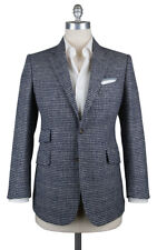 New $3300 Stile Latino Navy Blue Sportcoat - 38/48 - (VGULUCA212AMG16R7)