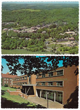 2 - BETHANY COLLEGE Virginia - c1960 POSTCARDS Campbell Hall & Aerial View