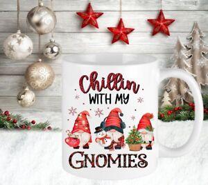 Gonk Gonks Gnome Personalised Merry Christmas Cup Mug Gift Present Secret Santa