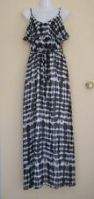 IMPULSE Lovely Polka Dot Evening/Cocktail/Casual Summer Maxi Dress Sz 8 @ NEW!!