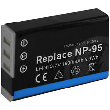 Akku NP-95 NP95 für Fuji Fujifilm Finepix REAL 3D W1, X100, X100s, X-S1
