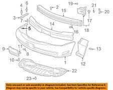 GM OEM FRONT BUMPER-Side Reinforcement Nut 11517102