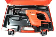Hilti Wsr 650 A 24v Cordless Reciprocating Saw Tool With Case Only Free Ship