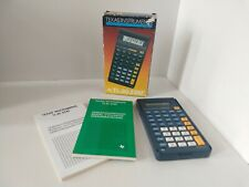 Vintage Boxed Texas Instruments TI-30 Stat Scientific Calculator Tested & Works