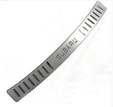 Outside Rear Bumper Protector Sill Plate Cover For Subaru Forester 2009-2012