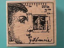 Collage 'Profile' STAMPINGTON & COMPANY Rubber Stamp Christine Adolph Design