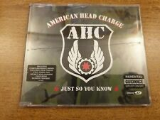 American Head Charge-Just So you Know  'CD Single'