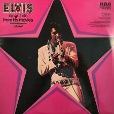 """Elvis Presley - Sings Hits From His Movies 12"""" Vinyl LP RCA Australia NM 1972"""