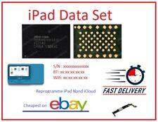 iPad Serial Number for NAND iCloud Unlock(DATA SET)