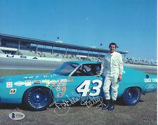 RICHARD PETTY SIGNED AUTOGRAPHED 8x10 PHOTO 3 KING NASCAR LEGEND BECKETT BAS COA