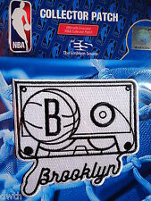 "Official Licensed NBA Brooklyn Nets ""Playback"" Fan Iron or Sew On Patch"