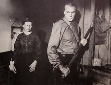 FRIENDLY PERSUASION Gary Cooper clipping Dorothy McGuire B&W photo 1956 Quakers
