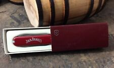 Vintage Jack Daniels Victorinox Red Swiss Army Knife With Box - Complete
