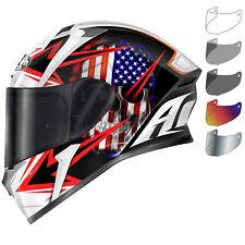 Airoh Valor Sam Motorcycle Helmet & Visor Pinlock Ready Full Face Motorbike ACU