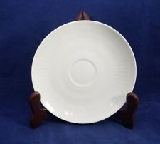"""Rosenthal ROMANCE (all white, Embossed Ovals) Saucer 6"""""""