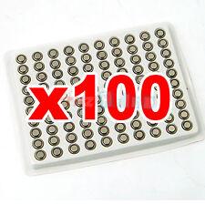 PILE BATTERIE 100 AG ALKALINE 3 LR41 LR192 per orologi giocattoli tz