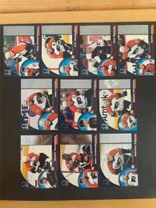 1998/99 Pacific Omega Philadelphia Flyers Team Set 10 Cards