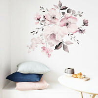 Modern Flower Wall Sticker Home Art Removable Living Room Decal Decor Charm