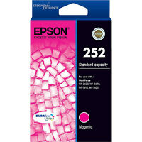 GENUINE Epson 252 Magenta Ink Cartridge WF-3620 WF-3640 WF-7610 WF-7620 T252392