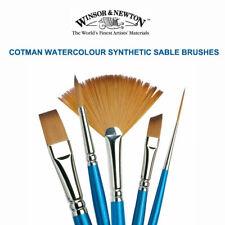 Winsor & Newton COTMAN Paint Brushes FLAT & Round III 222 333 666 777 888 #III