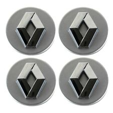 4 x 65 mm Buje tapas Llantas Tapa tapas Negro Plano para Audi BMW Brock cms