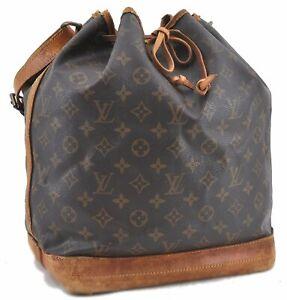 Authentic Louis Vuitton Monogram Noe Shoulder Bag M42224 LV C1839