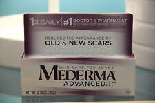 Mederma Advanced Scar Gel Skin Care For Injury Surgery Burns 20g .70 oz exp11/18