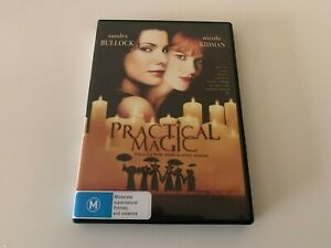 Practical Magic DVD (PAL, 2003) Free Post Nicole Kidman Sandra Bullock