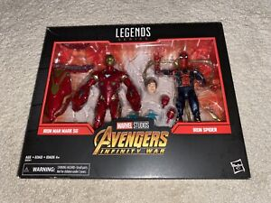 Marvel Legends Avengers Infinity War - Iron Man Mark 50 Iron Spider - Sealed