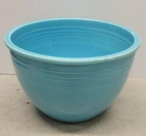 Vintage Fiesta Fiestaware #7 Nesting Mixing Bowl w/ RINGS Turquoise