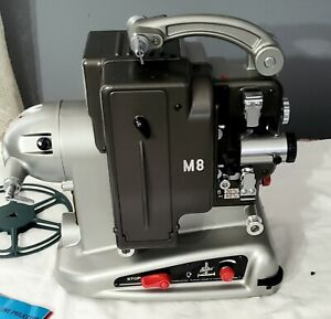 Vintage Bolex Paillard Movie Projector in Case with Reel