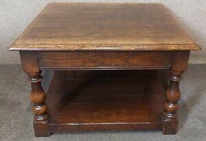 Titchmarsh & Goodwin English Oak End Table / Coffee Table
