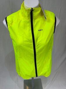 Garneau Women's Nova 2 Vest Size XL New With Tags Bright Yellow Reflective Light