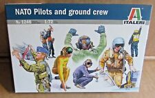 ITALERI NATO PILOTS AND GROUND CREW 1:72 SCALE MODEL SOLDIERS RAF AIR FORCE