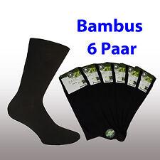 Bambus Gesundheits Business Socke schwarz Gr. 35-38 39-42 43-46 47-49 ...TOP�€�