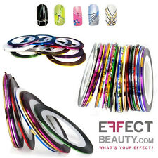 20pcs Mixed Colours Pretty Rolls Striping Tape Line Nail Art Decoration Sticker
