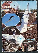 Posted 1975 Multiviews of Holmenkollen Ski Jump, Norway