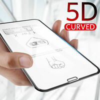 5D Curved Full Cover Tempered Glass Screen Protector For iPhone XS MAX XR XS 7 8