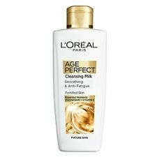 L'Oreal Paris Age Perfect Cleansing Smoothing Milk 200ml for Mature Skin