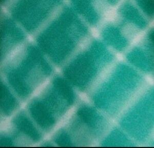 Green Plaid Self Tipped ESCADA Silk Tie