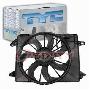 TYC 622550 Dual Radiator & Condenser Fan Assembly for 621-526 68050129AA mg